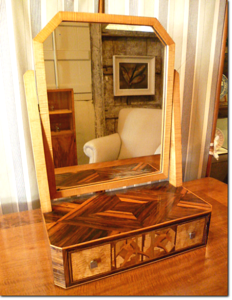 Art deco toilet mirror john bird antiques - Deco toilettes ...