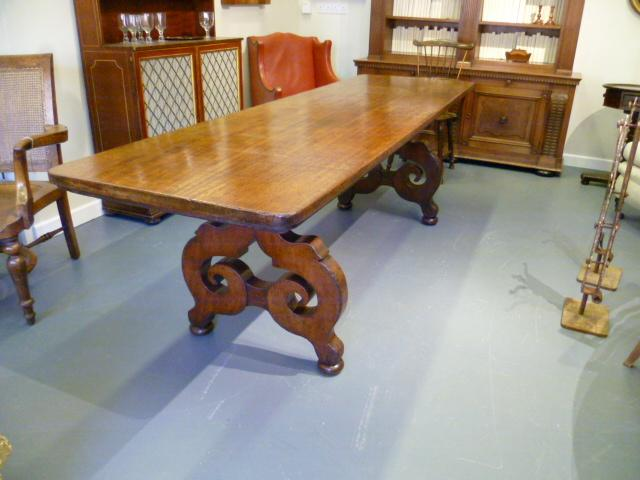 Antique Walnut Refectory Table