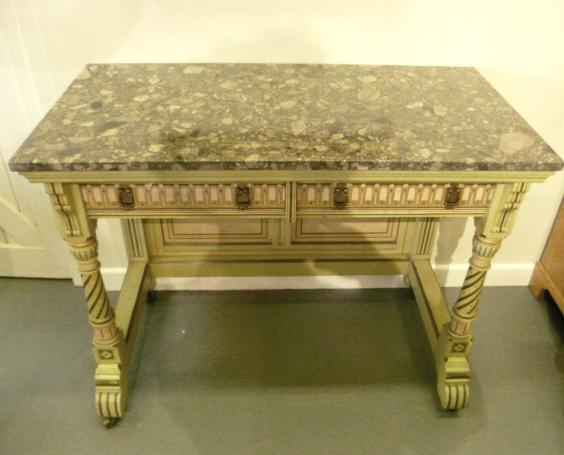 Arts and Crafts Console Table