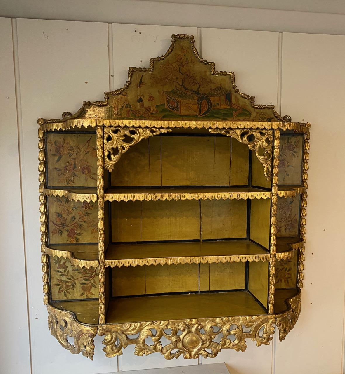 Chinoiserie Hanging Shelves
