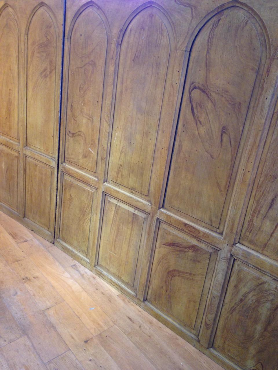 Gothic Panelling