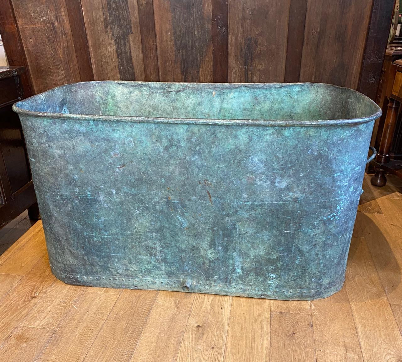 Large Copper Cistern