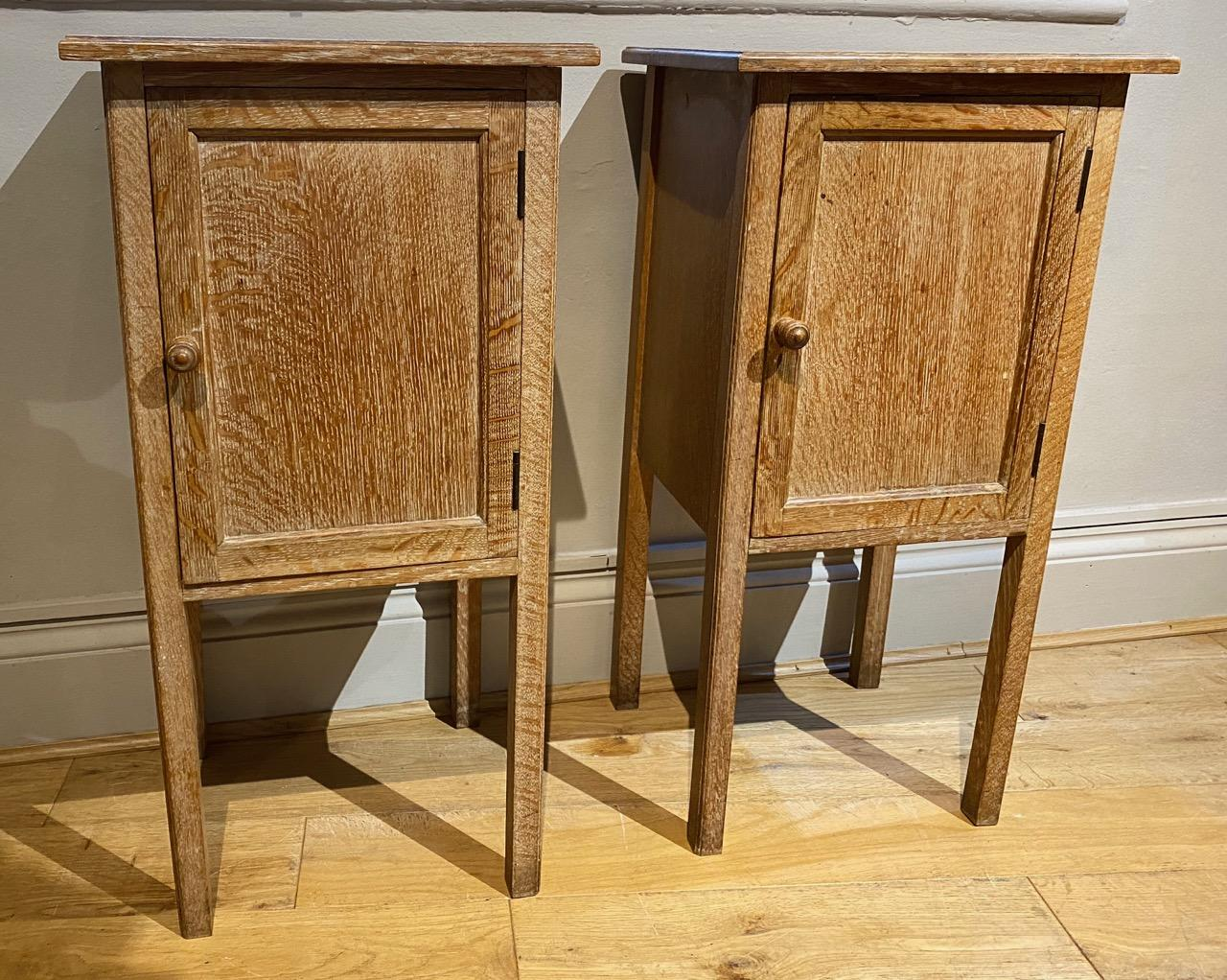 Pair of Heals Bedside Tables