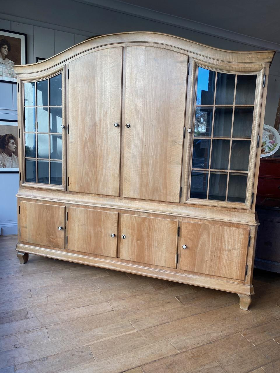 Pale Walnut Cabinet